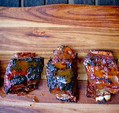 Tangy guava paste is the base for this marinade recipe for Sticky Ribs with Guava Marinade.