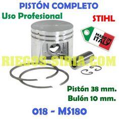 Pistón Completo PROFESIONAL STIHL 018 MS180