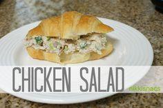 Nikkis' Nacs: Chicken Salad