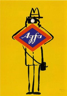 poster for Agfa film