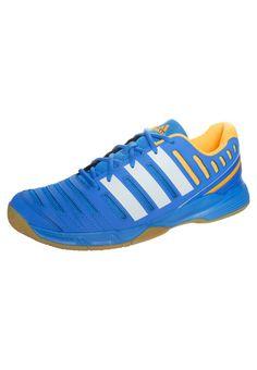 size 40 3b2cd 4c36e adidas Performance ESSENCE 11 - Handballschuh - solar blue running white  neon orange -