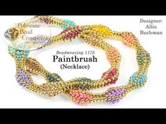 Paintbrush Necklace (Tutorial) - YouTube