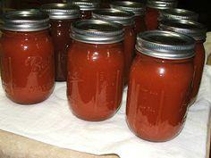 Canning Granny: Canning Basic Tomato Sauce