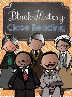 Enjoy informative reading passages on influential African American's!  Includes several reading levels!