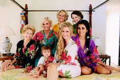 Found on WeddingMeYou.com - Bridal Party Kimono Robe by www.etsy.com/shop/silkandmore?section_id=12352903 #bridalrobe #bridesmaidsrobe #wedding