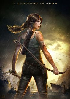 Tomb Raider Lara Croft Fan Art by Btot on DeviantArt Tomb Raider Video Game, Tomb Raider 2013, Chun Li, Angelina Jolie, Studio Ghibli, Tom Raider, Raiders Wallpaper, Top Imagem, Tomb Raider Lara Croft