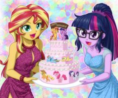 MLP Married life by on DeviantArt My Little Pony Drawing, Mlp My Little Pony, My Little Pony Friendship, Equestria Girls, My Little Pony Characters, Mlp Fan Art, Little Poney, Imagenes My Little Pony, My Little Pony Pictures