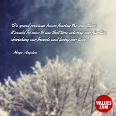 An inspiring quote about #connecting from www.values.com #dailyquote #passiton