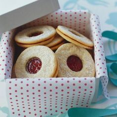 I'm checking out a delicious recipe for Gluten-Free Linzer Cookies from Owen's!