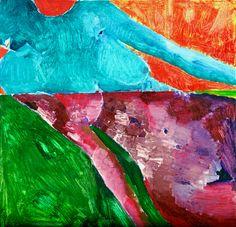 "YuryErmolenko, ""STARVE FOR SALTY AFTER-TASTE"" (""FLASH"" project), 1999, oil on…"