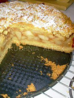 jabłecznik Polish Desserts, Apple Cake, Sweet Tooth, Pie, Cooking Recipes, Yummy Food, Homemade, Baking, Foreign Language