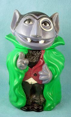 Sesame Street's The Count Cookie Jar # 975 by California Originals