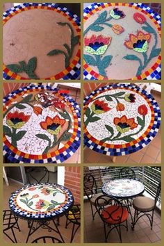Mosaic Wall Art, Mosaic Glass, Mosaic Tiles, Glass Art, Mosaics, Mosaic Crafts, Mosaic Projects, Vitromosaico Ideas, Mosaic Planters