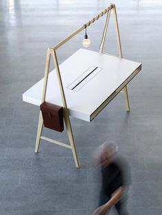 tengbom architects: a series office furniture, – Executive Home Office Design Deco Design, Wood Design, Design Design, Interior Design, Wood Furniture, Furniture Design, Furniture Movers, Furniture Dolly, Commercial Office Furniture