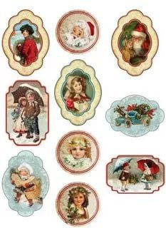 красивые картинки для декупажа круглые новогодние: 9 тыс изображений найдено в Яндекс.Картинках