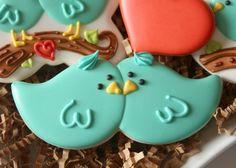 Tutorial - Lovebird Cookies  - Sweetsugarbelle