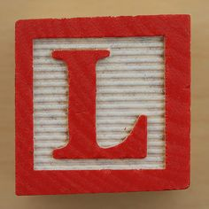 Block L   #LetterL