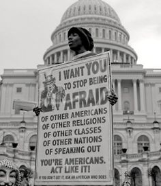 Stop Being Afraid. This is cool. Yes other religions, classes and all. This goes all ways!