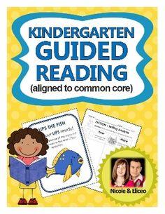 Kindergarten Guided Reading Pack