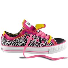 Keeley's shoes...with her name on sides...minus the yellow