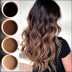 Are you going to balayage hair for the first time and know nothing about this technique? We've gathered everything you need to know about balayage, check! Brown Hair Balayage, Brown Hair With Highlights, Hair Color Balayage, Ombre Hair Color For Brunettes, Black Balayage, Hair Color Ideas For Brunettes Chocolates, Sombre Hair Brunette, Brunette Hair Colors, Hair Ideas For Brunettes