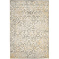 Found it at Wayfair - Montelimar Ivory/Grey Area Rug