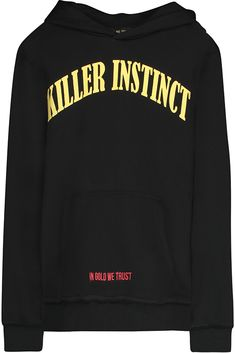 In Gold We Trust Hoodie ' A ruthless determintation to succeed or win: 'he had...