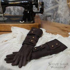 Bloodborne Lady Maria leather gloves (replica) / LARP / Fantasy style / cosplay / Maria Hunter Gloves / handmade / geek