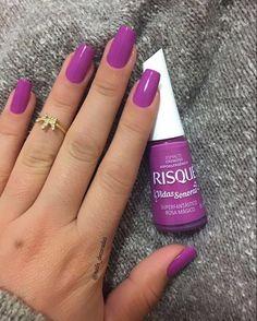 Nails design elegant purple ideas nails designs в 2019 г Blue Nails, White Nails, Glitter Nails, My Nails, French Manicure Acrylic Nails, Nail Manicure, Nail Polish, Pretty Nail Colors, Pretty Nails