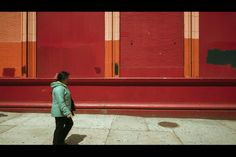 I have a number of favorite places that I like to shoot. One of them is this red wall in East Harlem. So every time I do a photo tour or workshop in El Barrio, we always stop here and take a few ph…