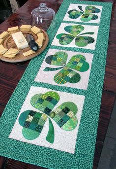 Shamrock Table Runner • WeAllSew • BERNINA USA's blog, WeAllSew, offers fun project ideas, patterns, video tutorials and sewing tips for sewers and crafters of all ages and skill levels.