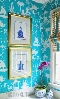South Shore Decorating Blog: 25 Powder Room Gems