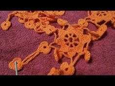 πλεκτό σάλι με το βελονάκι μοτίβα μέρος 1.knitted shawl with crochet patterns part 1. Irene crochet - YouTube Solomon, Crochet Shawl, Shawls, Crochet Necklace, Youtube, Crochet Scarfs, Youtubers, Youtube Movies
