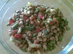 Pinto Bean Salad - think I'll use cilantro instead of parsley