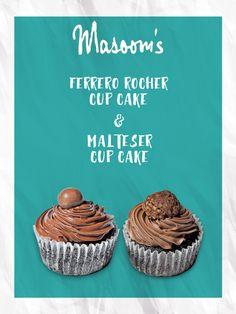 Treat your taste buds with scrummy Cupcakes #Masoomspancakelounge
