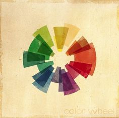 I love a well done color wheel