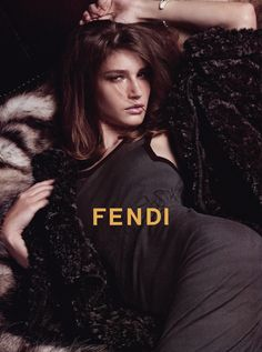 Eugenia Volodina by Karl Lagerfeld for Fendi F/W 2004
