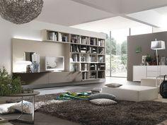 Parete attrezzata per #soggiorno moderno Atlante C301 | gruppotomasella.it