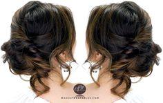 Cute Everyday 3-Minute Side Messy Bun   Hair Tutorial