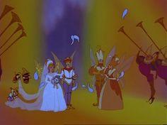 """Thumbelina"" - The wedding of Thumbelina and Prince Cornelius."