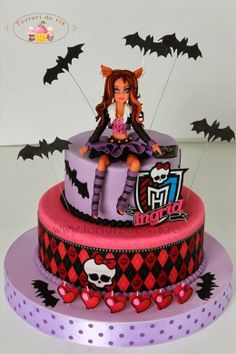 square monster high cakes - Google Search