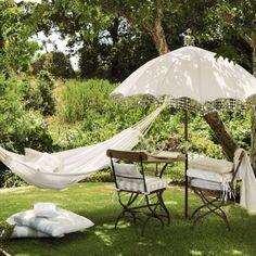 Vintage garden - garden hammock