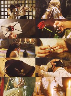 Phantom Of The Opera scenes. Makes me want to send letters with  wax seals on ; D