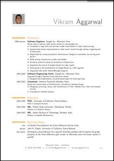 Chronological Resume Sample Academic Librarian Pg  Resume Design