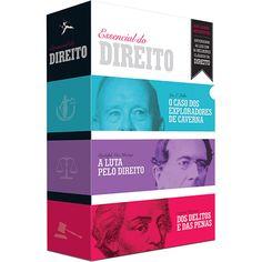 Submarino Livro - Box O Essencial do Direito (3 Volumes) R$ 8,34 À vista.