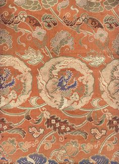 detail of Buddhist Altar Fragment, late 18th century (1775-1800).  Yorke Antique Textiles