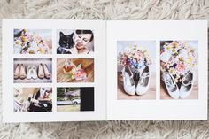 Queensberry Wedding Album | Overlay Matted Pages | Eleanor Jane Photography #weddingalbum