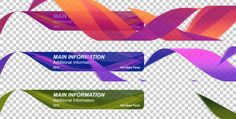 Clean and Gentle Lower Thirds After Effects project on Behance Lower Thirds, After Effects Projects, Brochure Template, Typography, Cleaning, Graphic Design, Ribbons, Vector Art, Creative Ideas