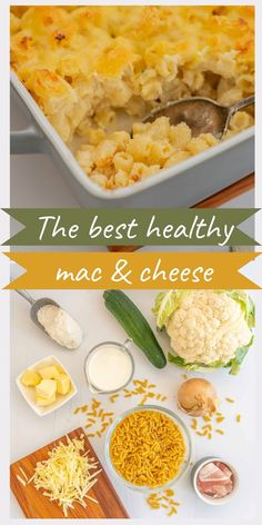 Macaroni and cheese is always a winner with children. It is the ultimate comfort food for kids and adults alike. The brilliant thing about this recipe is that this is a healthy macaroni and cheese because it is absolutely packed with hidden veggies. Healthy Macaroni Cheese, Homemade Macaroni Cheese, Macaroni Cheese Recipes, Macaroni And Cheese, Veggie Recipes, Cooking Recipes, Healthy Recipes, Easy Weeknight Dinners, Quick Easy Meals