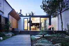 A renovation and extension to the rear of a Victorian cottage in Kensington, Victoria Australia. The owner, a single professional loved her charming 2 bedro...